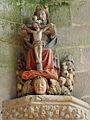 La Trinité-Langonnet (56) Église Statue 06.JPG