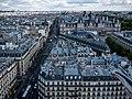 La rue de Rivoli et l'Hôtel de ville vus de la Tour Saint-Jacques, Paris août 2014.jpg