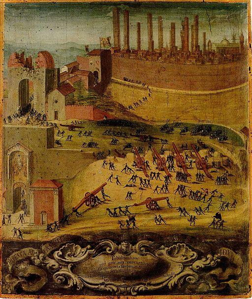 La vittoria di Camollia del 1527, gennaio-dicembre di Cini Giovanni di Lorenzo