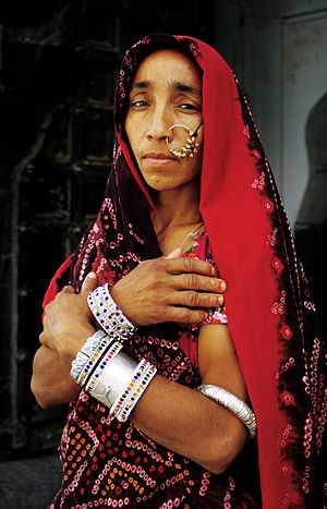 Lady in Bundi, Rajasthan.JPG