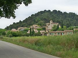 A view of the village of Lafare