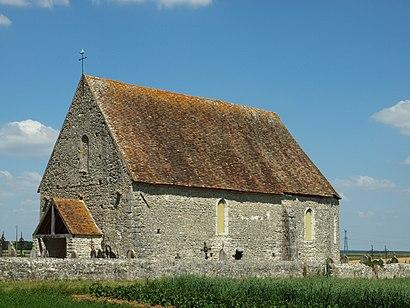 Comment aller à Église Saint-Eutrope De Lagerville en transport en commun - A propos de cet endroit