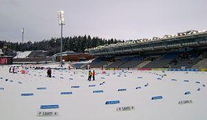 Lahti Stadium - Image: Lahden stadion 2010 03 06