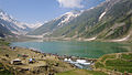 Lake saif Pakistan one of the highest lakes on earth in mountains.JPG