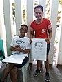 Lan Borlagdatan and Irvin Sto. Tomas at Pagkarahay Arts Festival 2018.jpg