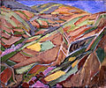 Land Tilled to the Mountain Tops by Fujishima Takeji (Koriyama City Museum of Art).jpg