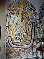 Landerd, Zeeland Mariakapel Kapelweg interieur muurschildering 01.JPG