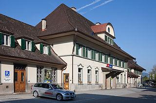 Langnau railway station railway station in Switzerland