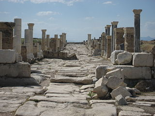 Laodicea on the Lycus ancient town in Phrygia, Asia Minor, now Turkey