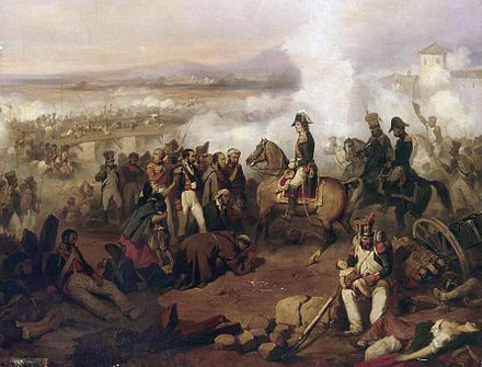 Marshal Jean-de-Dieu Soult at the First Battle of Porto by Joseph Beaume LargeBattleofOportobyBeaume edit.jpg