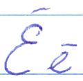 Latvian alphabet ee.jpg