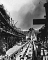 Launch of USS Tisdale (DE-33) at the Mare Island Naval Shipyard on 28 June 1943.jpg