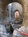 Lavori 2012 a porta pretoriana Aosta 01.jpg
