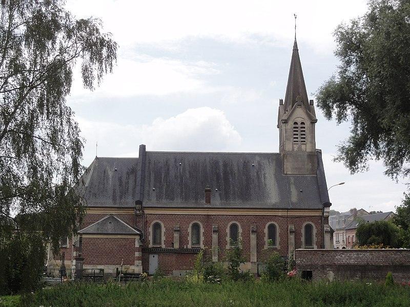 Le Catelet (Aisne) église