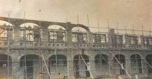 Lê Hồng Phong High School - Petrus Ký High School during construction