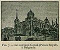 Le nouveau Conak (Palais Royal) à Belgrade - Beauregard J - 1896.jpg
