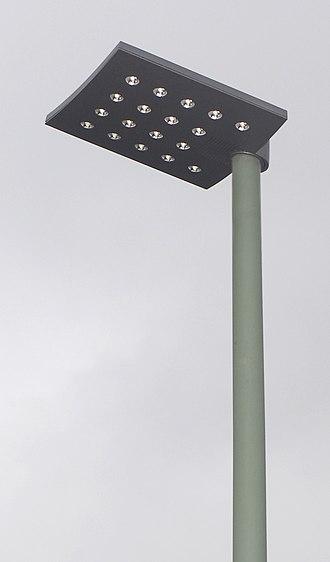 LED street light - LED street light in the United Kingdom