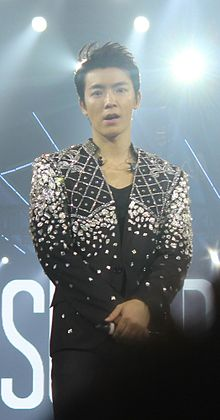 Lee Donghae during Super Show 5 in Manila.jpg