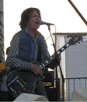 Lee Ving - Ving performing with Fear on the 2010 Warped Tour