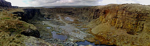 Bacup - On the moor to the south is Lee Quarry, a council funded mountain bike trail.