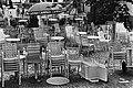 Leeg terrasje op het Leidseplein, Bestanddeelnr 930-3560.jpg