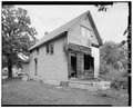 Left side from southwest - 2015 Woodland Avenue (Cottage), Des Moines, Polk County, IA HABS IOWA,77-DESMO,29-3.tif