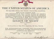 Legion of Merit by I.I.Lyudnikov