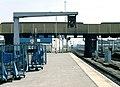 Leicester railway station, Nigel Tout, July 1985.jpg