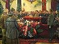 Lenin's funerals by I.Brodsky (1925) detail 01.jpg