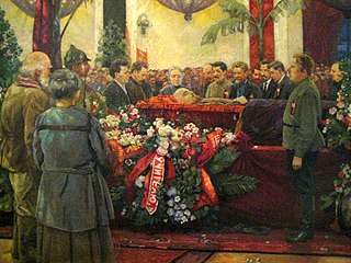 Death and state funeral of Vladimir Lenin