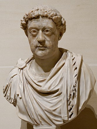 Leo I the Thracian - Imperial portrait of Leo I  at the Louvre Museum
