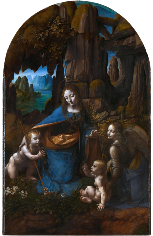 Leonardo da Vinci - Virgin of the Rocks (National Gallery London)