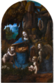 Leonardo da Vinci - Virgin of the Rocks (National Gallery London).png