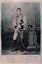 Васил Левски през 1868 г.