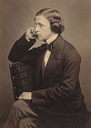 Lewis Carroll. Possibly a self-portrait taken with assistance.