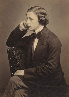 Lewis Carroll English writer, logician, Anglican deacon and photographer