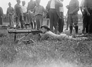 Lewis Gun Training