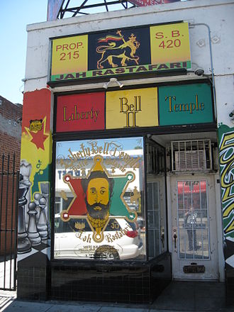 Rastafari - The Liberty Bell Temple in Los Angeles was established by Ed Forchion