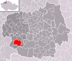 Location of Libochovice