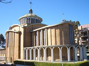 Ukrainian Australians - St Andrews Ukrainian Catholic Church, Lidcombe, NSW.