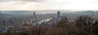 Metropolitan areas in Belgium - Liège