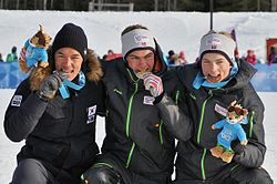 Lillehammer 2016 Cross country sprint classic men medalists (24439047034).jpg