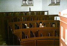 A picture of the prison chapel at Lincoln Castle