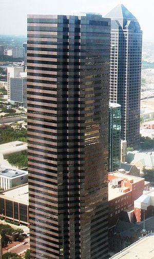 Halliburton - Lincoln Plaza in Downtown Dallas, which at one time housed the Halliburton headquarters