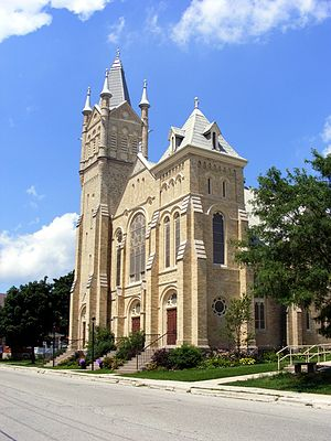 Listowel, Ontario - Knox Presbyterian church