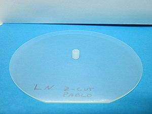 Lithium niobate - Image: Lithium Niobate Wafer