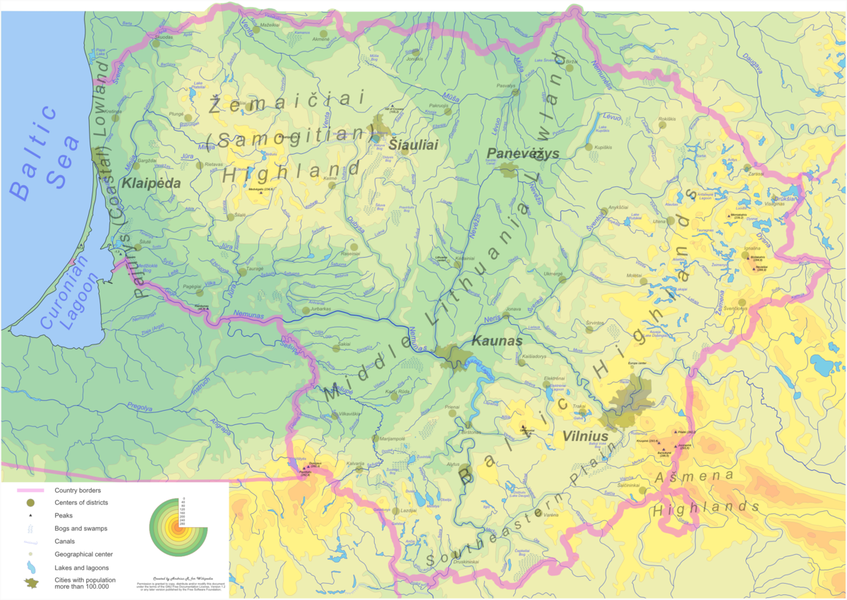 Geography of Lithuania - Wikipedia