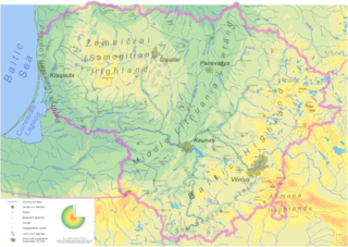 Geography of Lithuania