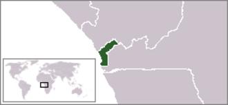 Togo national football team attack - Cabinda (green)