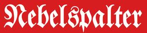Nebelspalter - Image: Logo Nebelspalter